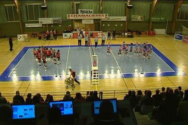 Les Panthères de Chamalières sont éliminées de la Coupe de France de volley-ball en huitièmes de finale par Béziers, comme l'an passé.