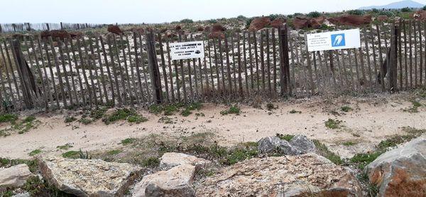 Des panneaux apposés de façon illégale selon la municipalité