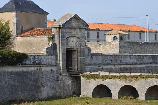 La prison de Saint Martin-de-Ré (Charente-Maritime)