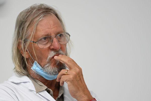 Le professeur Didier Raoult, directeur de l'IHU Méditerranée Infection
