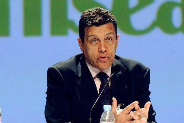 Xavier Beulin au congrès de la FNSEA en mars 2012