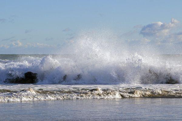 Des vagues de 1,5 à 1,8 mètre sont attendues sur le littoral héraultais. Archives.