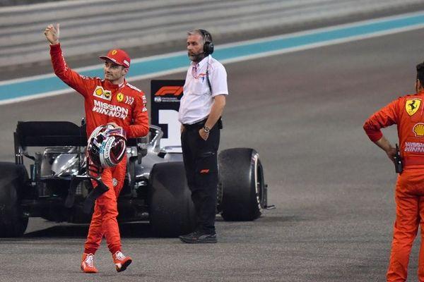 Charles Leclerc, Grand Prix d'Abu Dhabi (1/12/19)