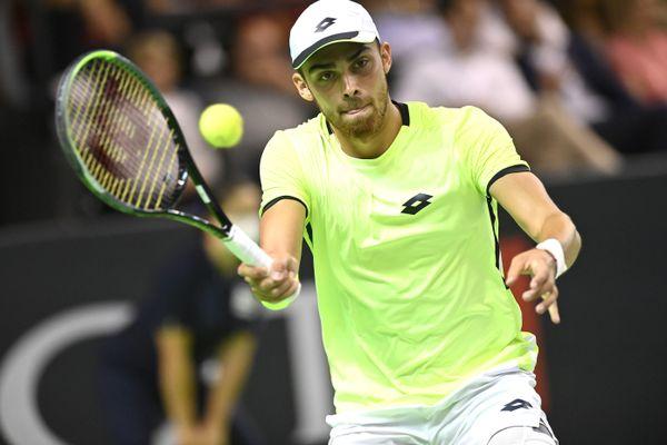 Benjamin Bonzi sera l'un des outsiders de l'open de tennis de Caen.