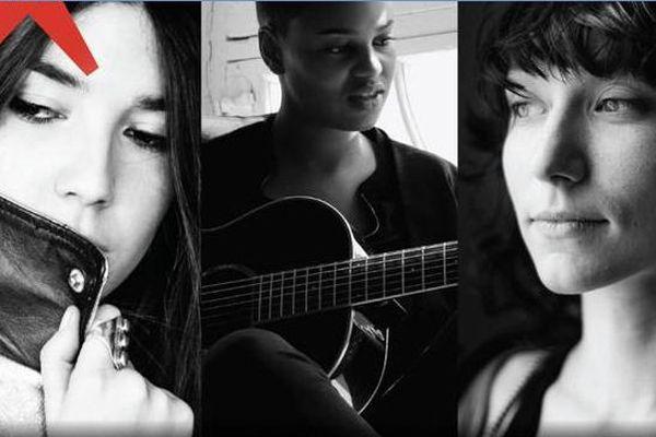 Les 3 artistes du Chantier des Francofolies