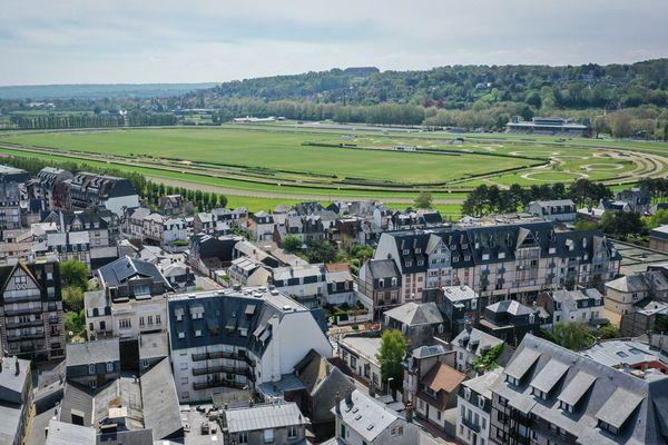 L'hippodrome de Deauville