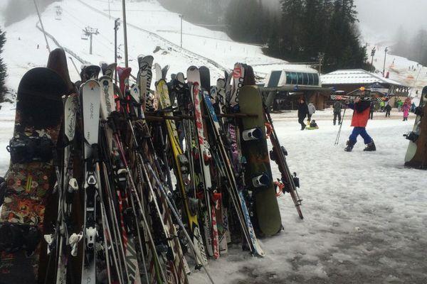Les skis de retour à la station