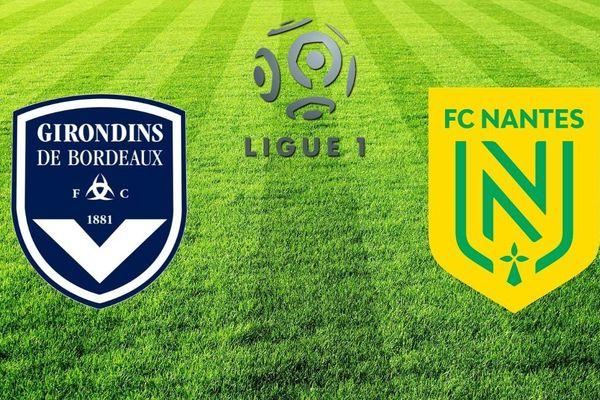 le FC Nantes fait le déplacement sur la pelouse des Girondins de Bordeaux