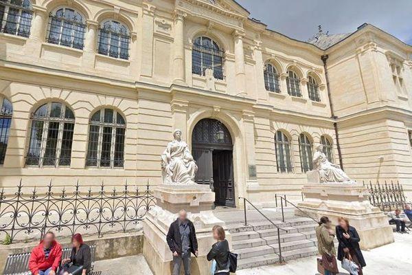 Le tribunal d'Auch où comparaissaient les deux prévenus dans le procès du drame du rallye de Tillac