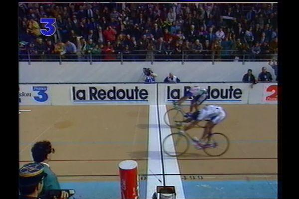Gilbert Duclos-Lassalle au premier plan remporte la course.