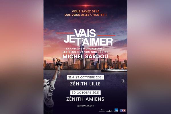 Je vais t'aimer débute sa tournée à Lille les 21 et 23 octobre 2021 puis à Amiens le 30 octobre