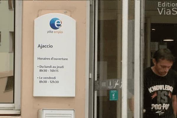 Le chômage a progressé de 12,1% en Corse.