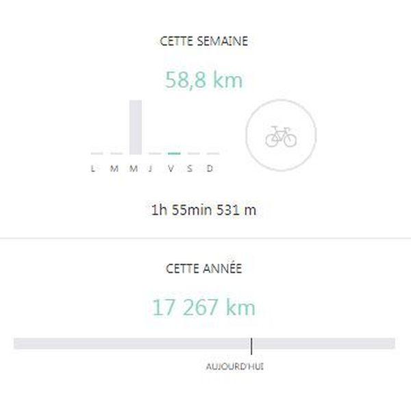 Capture d'écran du profil Strava de Thibaut Pinot