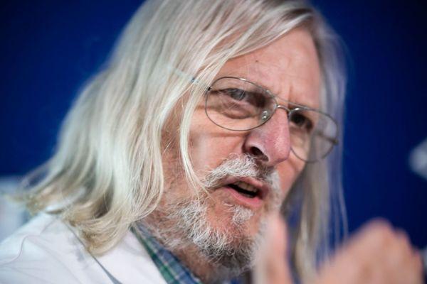 Le professeur Didier Raoult, directeur de l'IHU maladies infectieuses de Marseille.