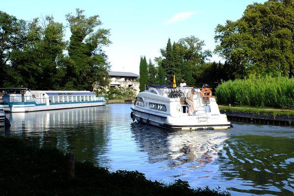 Le tourisme fluviale est à l'arrêt avec le confinement