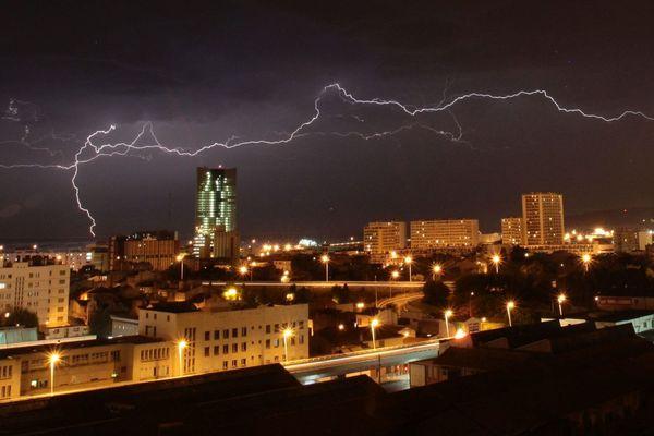 Photo d'illustration - Des orages violents sont attendus cette nuit dans les Bouches-du-Rhône et le Vaucluse
