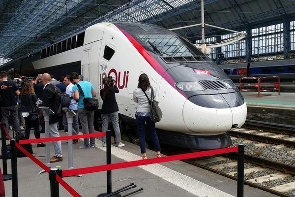 Le TGV en 2 h 08 à Bordeaux depuis Paris !