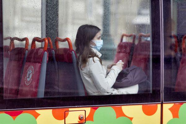 Montpellier - Depuis le 11 mai, le masque est obligatoire dans les transports publics - 2020