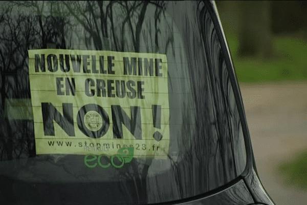 Les opposants au projet de mines d'or en Creuse devraient rester mobilisés (photo d'archives).