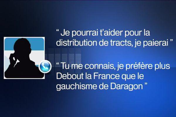 Extrait de la conversation qui a coûté à Patrick Labaune sa présidence du département de la Drôme