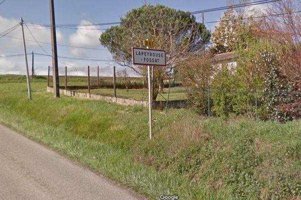 L'accident a eu lieu au coeur de cette commune, au Nord de Toulouse