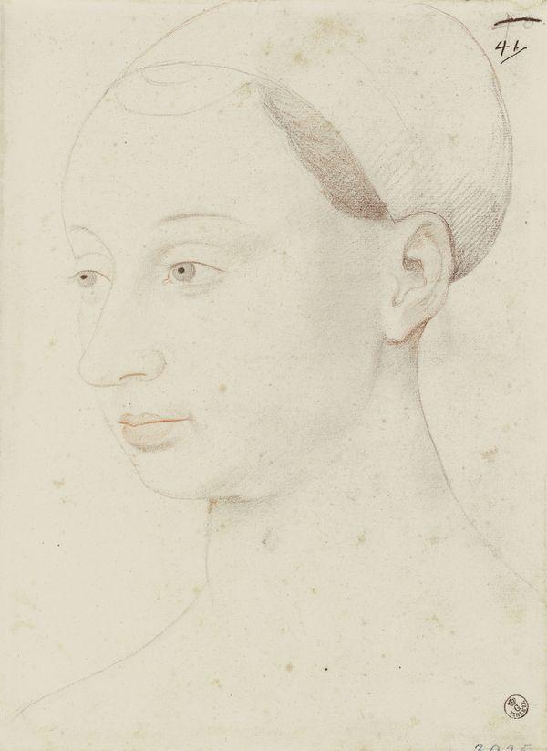 Portrait d'Agnès Sorel, d'après Jean Fouquet, entre 1526 et 1550