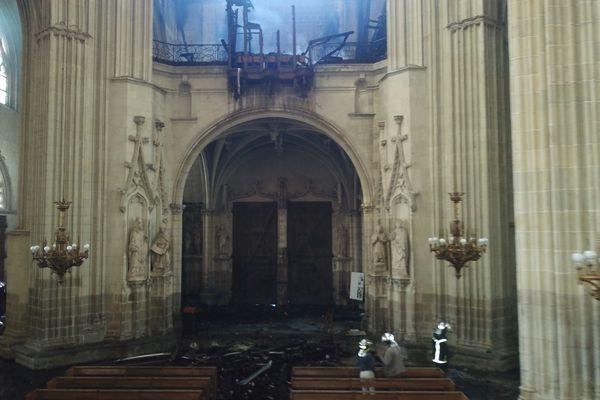 L'incendie de la cathédrale de Nantes, le 17 juillet 2020