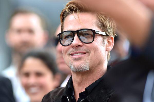 Brad Pitt, le week-end dernier, aux 24 heures du Mans.