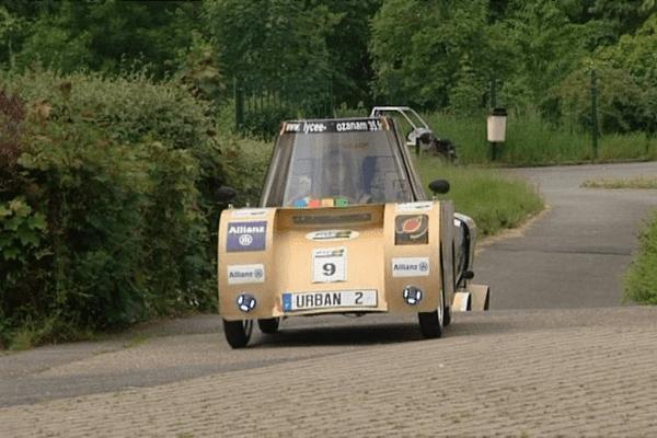 À Valenciennes, l'Urban 2 a reçu le 1er le prix de la plus faible consommation d'énergie dans la catégorie voitures électriques