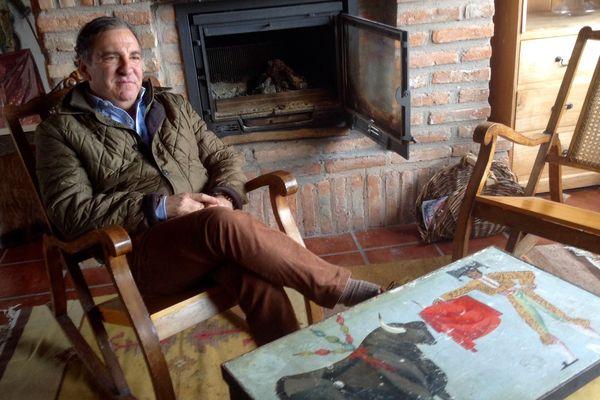 Antonio Bañuelos, ganadero.