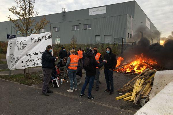 Une grève illimitée a commencé le 5 novembre à Figeac Aéro, à Méaulte.