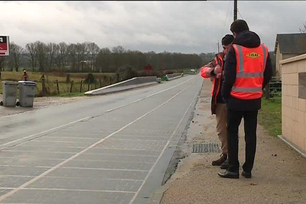 Un an après son inauguration, la route solaire, située à Tourtouvre, a atteint 85% de ses objectifs selon ses concepteurs.