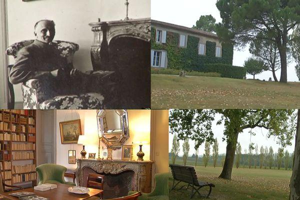 Sur les traces de François Mauriac dans son domaine de Malagar (Gironde).