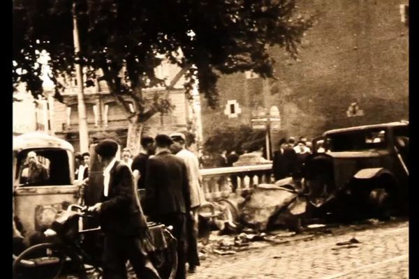 Perpignan - images inédites de l'après libération de la ville, c'était il y a 75 ans - 20 août 1944.