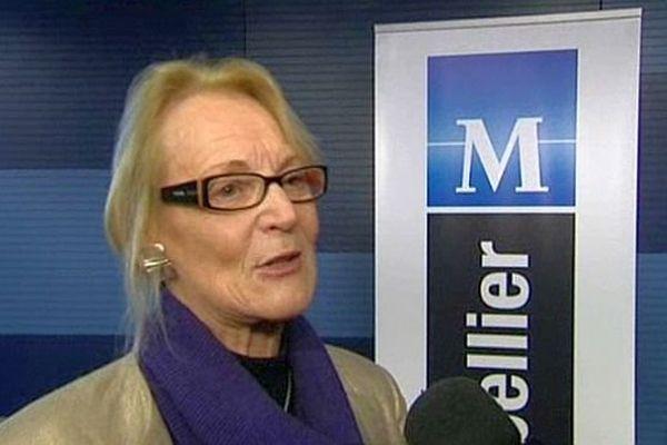 Hélène Mandroux, maire PS de Montpellier - 18 novembre 2013.