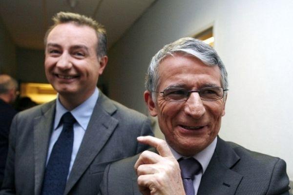 Jean-Luc Moudenc et Pierre Cohen vont se retrouver adversaires en 2014 comme en 2008