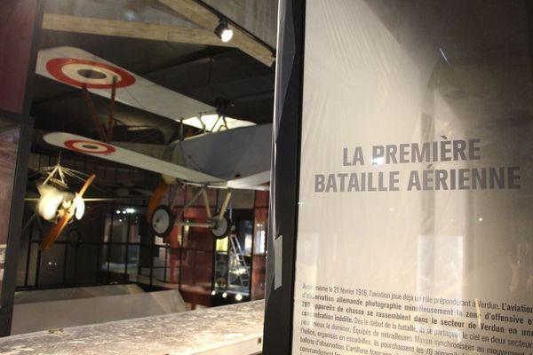 Le Mémorial de Verdun lors des travaux de réaménagement