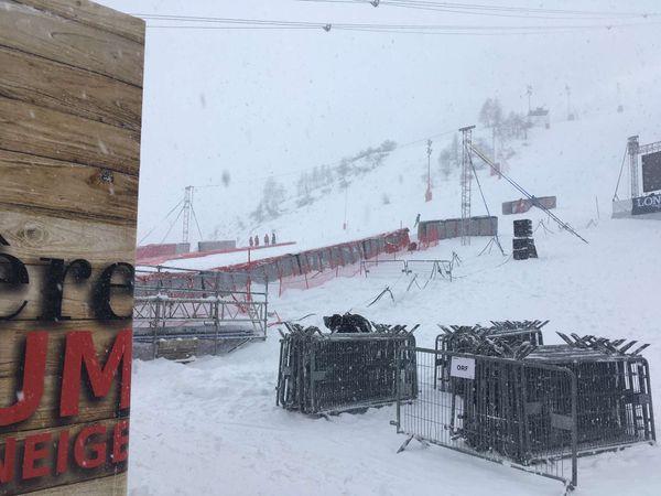 De la neige et du vent, des conditions imprévisibles