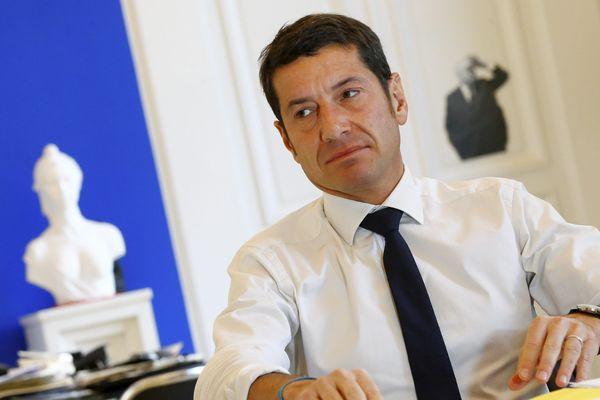 David Lisnard, maire de Cannes et vice-président de l'association des maires de France.