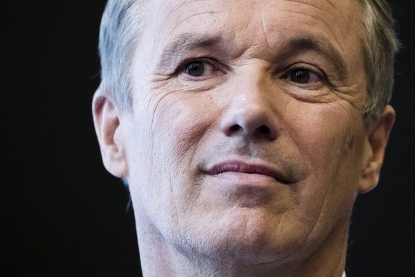 Le député (DLF) de l'Essonne, Nicolas Dupont-Aignan.