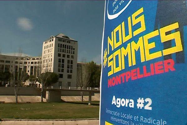"""""""Nous sommes"""" veut réinventer la démocratie directe à Montpellier."""