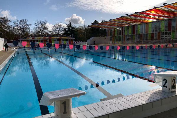 Nouveau bassin de la piscine nordique de La Ganterie - Poitiers