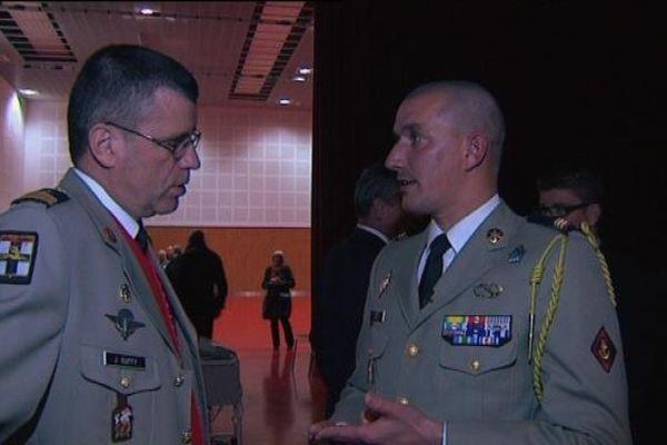 Le Caporal-chef 1ère classe Stéphane Guet du 35ème RI de Belfort a été blessé en Afghanistan