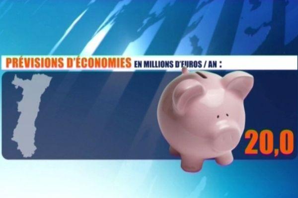 Pour certains, les économies potentielles représenteraient 100 millions d'euros sur 5 ans. D'autres ne voient aucune économie, bien au contraire...