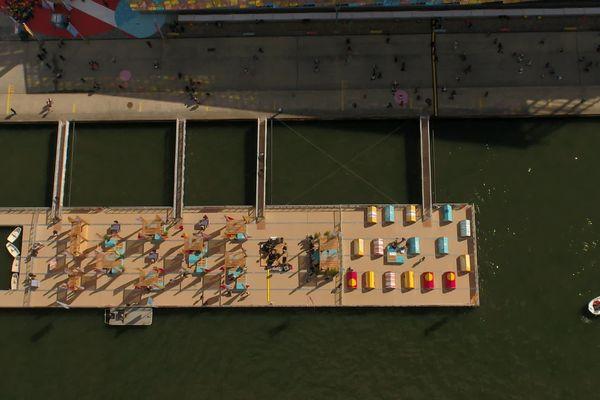 Immersion sur le camping flottant de l'Armada de Rouen