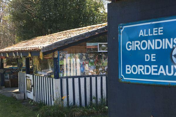 A Sauviac, quand on pousse la porte, on découvre ce lieu dédié aux Girondins !
