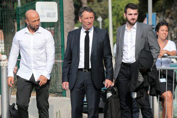 Rencontre à Nice des juges en charge de l'instruction sur l'attentat du 14 juillet avec les victimes et leur famille le 27 juin.