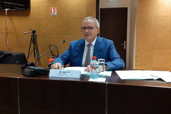 Patrick Weiten a été réélu président du conseil départemental de la Moselle dès le 1er tour de scrutin.