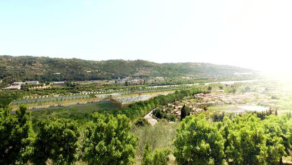C'est à la Gaude, dans la vallée du Var, que le MIN devait sortir de terre en 2021.