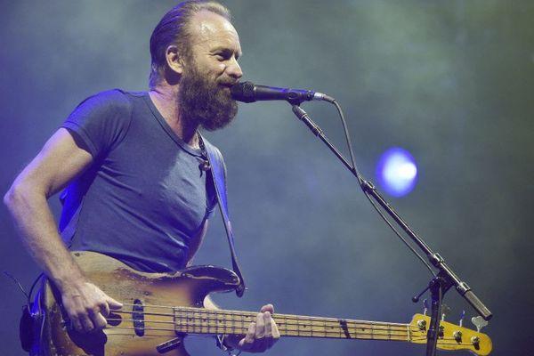Sting en concert aux Eurockéennes de Belfort